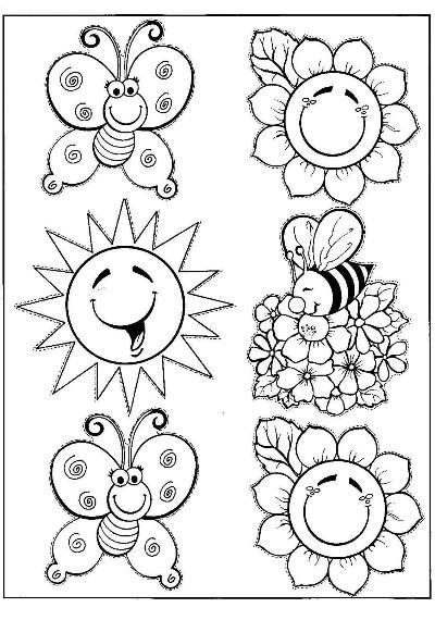 518220 Desenhos sobre primavera para colorir 5 Desenhos sobre primavera para colorir