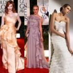 518962 Os babados podem aparecem em vários modelos de vestidos longos. Foto divulgação 150x150 Vestidos de Babados Longos   Modelos, Fotos