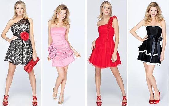 519422 Os vestidos coloridos são ótimas opções para o réveillon 2013. Foto divulgação Vestido coloridos Réveillon 2013: fotos
