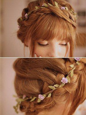 519814 Enfeitar cabelo com flores dicas fotos.7 Enfeitar cabelo com flores: dicas, fotos