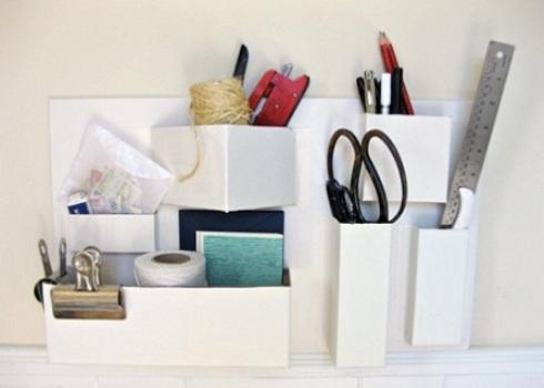520421 Objetos de escritório feitos com materiais recicláveis 2 Objetos de escritório feitos com materiais recicláveis