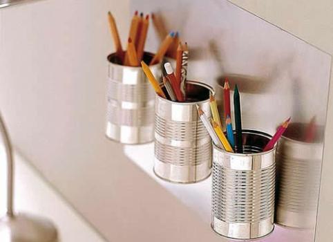 520421 Objetos de escritório feitos com materiais recicláveis 6 Objetos de escritório feitos com materiais recicláveis