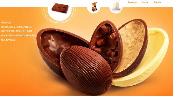 chocolate loja chocolândia