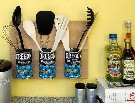 521882 Decoração da cozinha com objetos reciclados 1 Decoração da cozinha com objetos reciclados