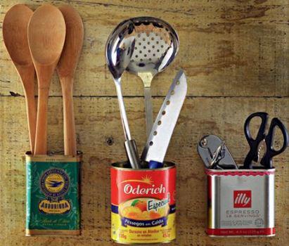 521882 Decoração da cozinha com objetos reciclados 7 Decoração da cozinha com objetos reciclados
