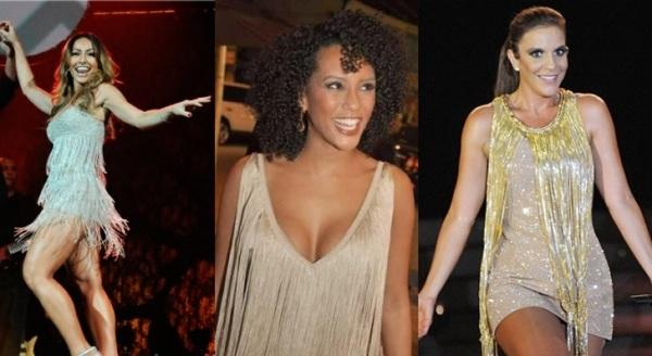 524012 Beldades brasileiras não dispensam as franjas dos looks. Vestidos com franjas: como usar, modelos