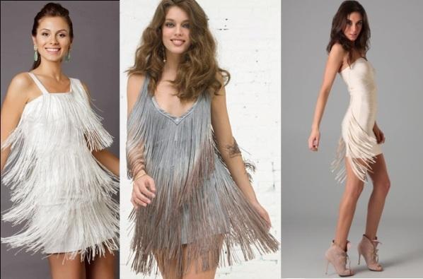 524012 Os vestidos com franja são belíssimos. Vestidos com franjas: como usar, modelos