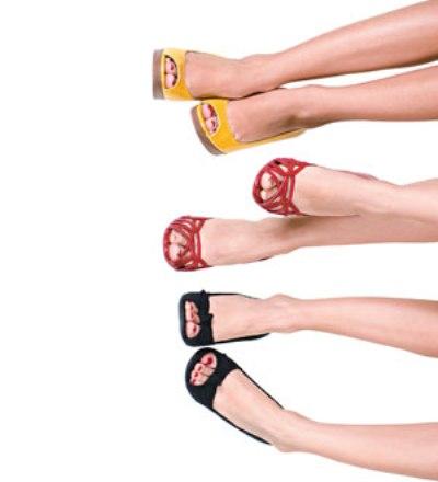 524236 Os sapatos devem ser escolhidos de acordo com cada tipo de perna. Foto divulgação O sapato certo para cada tipo de pernas