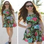 525205 As estampas tropicais caem muito bem em vestidos. Foto divulgação 150x150 Estampas tropicais que estão na moda