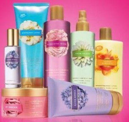 525735 Os hidratantes da linha Victoria Secrets são excelentes produtos para hidratar a pele em casa. Foto divulgação Produtos para hidratar a pele em casa