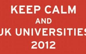 UK Universities 2012: datas, universidades participantes