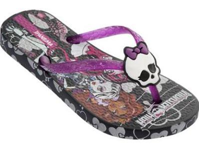 526402 Linha de sandálias Monster High.2 Linha de sandálias da Monster High