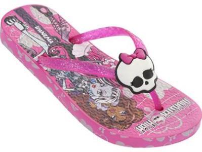 526402 Linha de sandálias Monster High.3 Linha de sandálias da Monster High