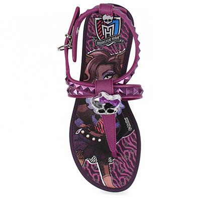 526402 Linha de sandálias Monster High.7 Linha de sandálias da Monster High
