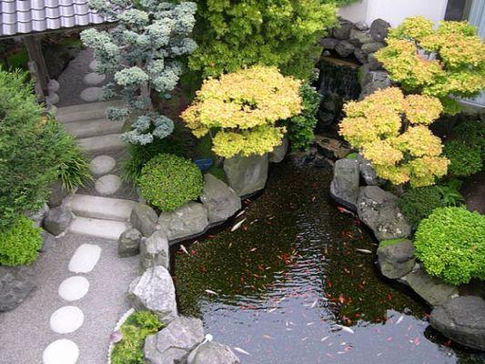 pedras para montar um jardim: de jardim japonês. Foto divulgação Jardim japonês: como montar