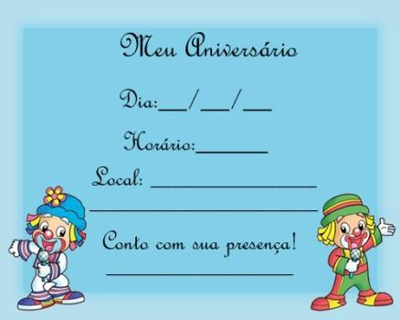 De Convite De Aniversario Infantil 8 150x150 Modelos De Convite De