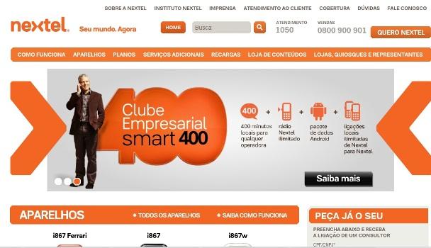 529778 www.nextel.com .br site da nextel www.nextel.com.br, site da Nextel, planos e serviços