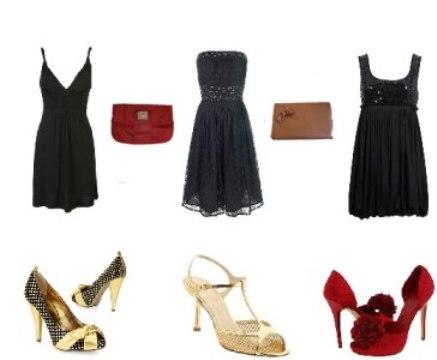 529850 Escolha as peças que mais lhe agrade. Foto divulgação Como combinar roupa de festa com sapato