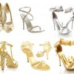 529850 Os sapatos metalizados combinam com vários trajes de festa. Foto divulgação 150x150 Como combinar roupa de festa com sapato