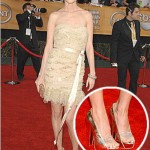 529850 Os sapatos metalizados podem ser usados com roupas de festas. Foto divulgação 150x150 Como combinar roupa de festa com sapato