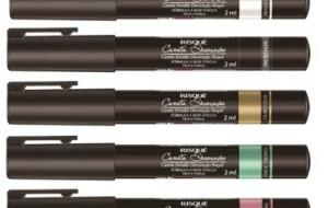 Linha de canetas para nail art Risqué