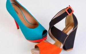 Sapatos para o verão 2013, modelos