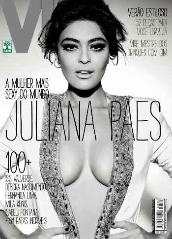 531542 Revista VIP elege Juliana Paes como a mais sexy do mundo Revista VIP elege Juliana Paes como a mais sexy do mundo