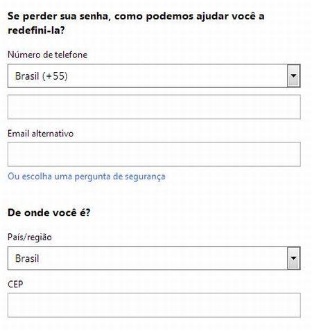 531737 como criar conta no hotmail passo a passo 3 Como criar conta no Hotmail passo a passo