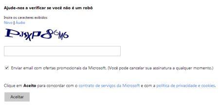 531737 como criar conta no hotmail passo a passo 4 Como criar conta no Hotmail passo a passo