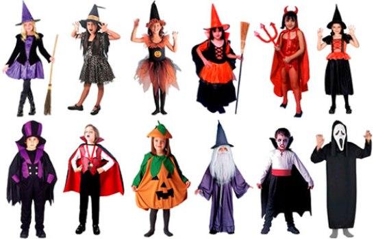 532880 Vários modelos de fantasias podem ser usadas nas festas de halloween. Foto divulgação Fantasias infantis para festa de halloween: fotos