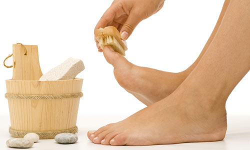 534174 Uma higiene dequada pode prevenir a manifestação de frieiras. Foto divulgação Frieira: como curar