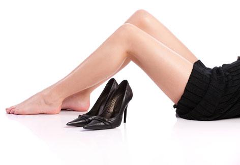 534174 Utilizar sapatos fechados pode favorecer o apreciemnto das frieiras. Foto divulgação Frieira: como curar