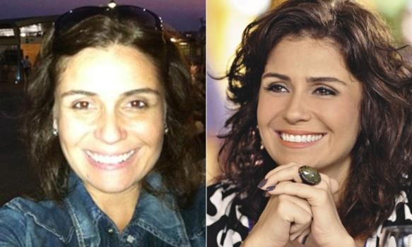 534532 Famosas brasileiras sem maquiagem fotos 18 Famosas brasileiras sem maquiagem: fotos
