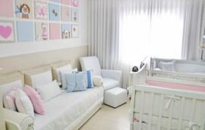 Cortina para quarto de bebê: como escolher