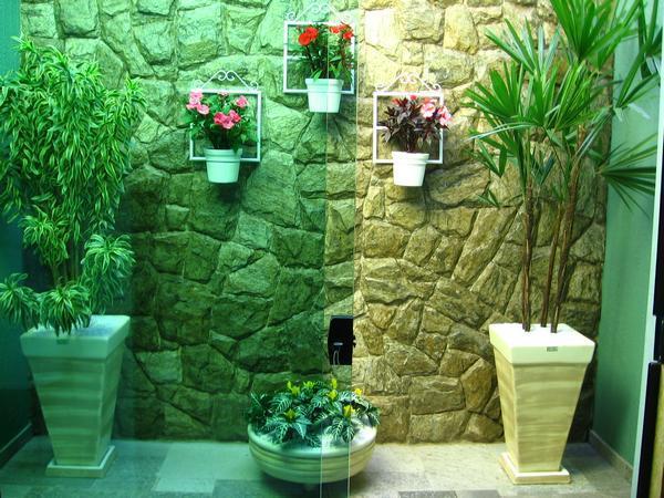 Jardim de inverno fotos - Placas para decorar paredes ...