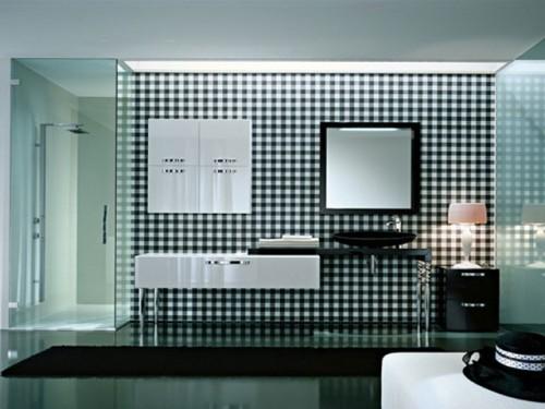 536957 banheiros planejados 500x375 Banheiros em branco e preto: dicas, fotos