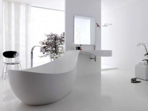536957 fotos de banheiros decorados1 500x375 Banheiros em branco e preto: dicas, fotos
