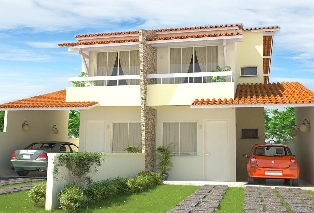 536993 Fachadas de casas com garagem 6 Fachadas de casas com garagem