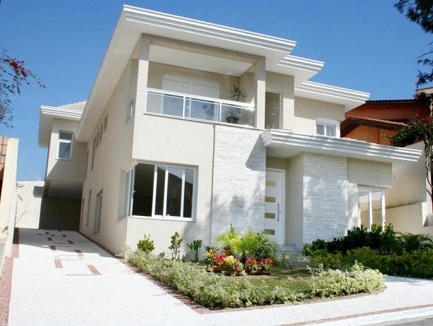 536993 res 11 Fachadas de casas com garagem