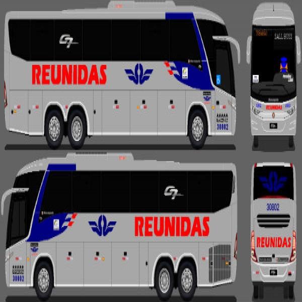 53766 onibus reunidas 600x600 Reunidas Paulista: Ônibus Passagens e Horários