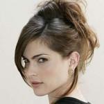 538275 Os cabelos presos são ótimas opções de escolha. Foto divulgação 150x150 Penteados para cabelos repicados