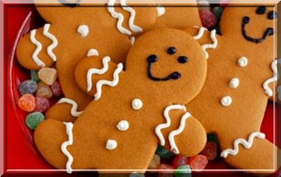 538606 Os biscoitinhos de natal podem ajudar na decoração. Foto divulgação Festa de Natal na escola: dicas de decoração