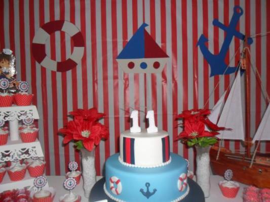 539146 A decoração de marinheiro pode ser uma excelente opção de escolha. Foto divulgação Decoração do chá de bebê: temas