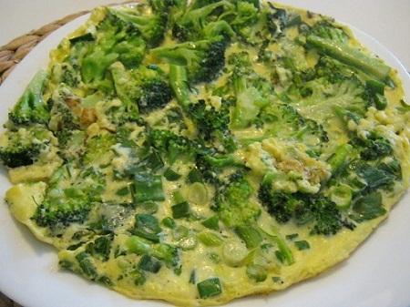 539715 Omelete de brócolis 02 Omelete de brócolis