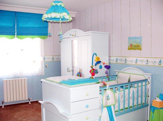 539802 quarto bebê masculino 1 Quarto de bebê decorado masculino