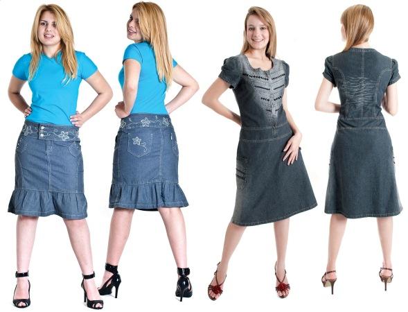 540089 As saias são as peças jeans preferidas do público evangélico. Moda evangélica jeans