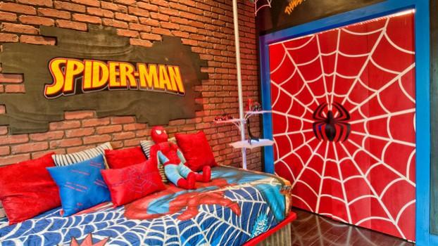 540134 Quarto com decoração de super heróis dicas fotos 12 Quarto com decoração de super heróis: dicas, fotos