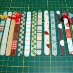 540739 Os palitos de picolé podem ser marcadores de páginas. Foto divulgação 150x150 Marcadores de página criativos: fotos
