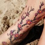 540880 Tatuagens de flor de cerejeira fotos 14 150x150 Tatuagens de flor de cerejeira: fotos