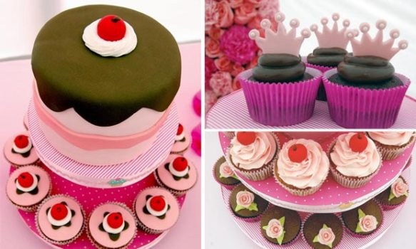 542070 Decoração de aniversário infantil tema cupcakes 6 Decoração de aniversário infantil tema cupcakes